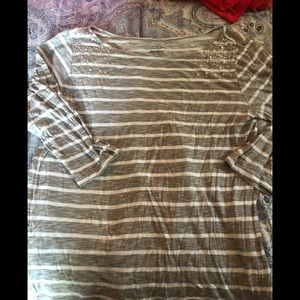 Striped old navy shirt